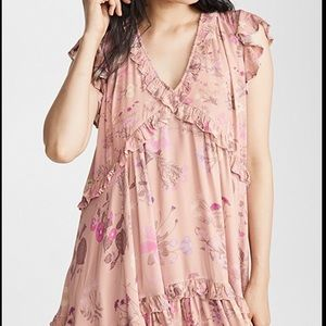 spelland the gypsy wild bloom mini dress
